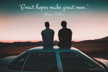 Illustration of the Bible Verse Quote by Thomaser