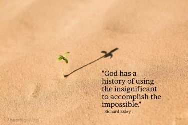 Illustration of the Bible Verse Quote by Richard Exley