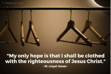 Illustration of the Bible Verse Quote by M. Lloyd-Jones