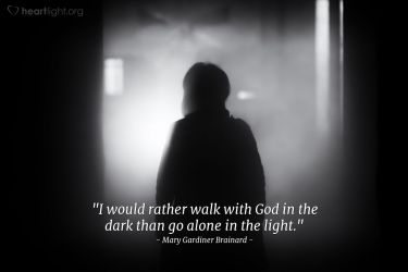 Illustration of the Bible Verse Quote by Mary Gardiner Brainard