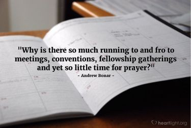 Illustration of the Bible Verse Quote by Andrew Bonar