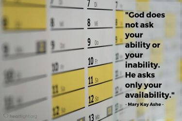 Illustration of the Bible Verse Quote by Mary Kay Ashe