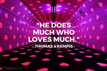 Illustration of the Bible Verse Quote by Thomas à Kempis