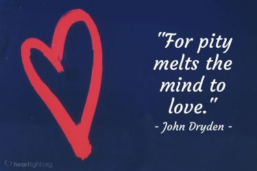 Illustration of the Bible Verse Quote by John Dryden