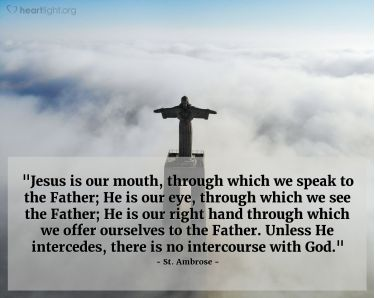 Illustration of the Bible Verse Quote by St. Ambrose