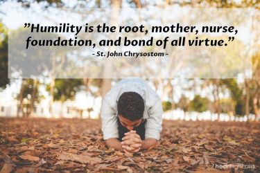 Illustration of the Bible Verse Quote by St. John Chrysostom