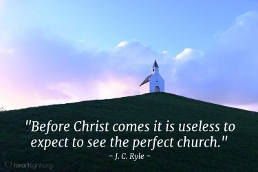 Illustration of the Bible Verse Quote by J. C. Ryle