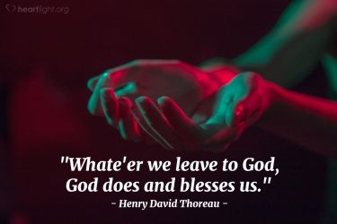 Illustration of the Bible Verse Quote by Henry David Thoreau