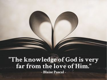 Illustration of the Bible Verse Quote by Blaise Pascal
