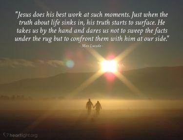 Illustration of the Bible Verse Quote by Max Lucado