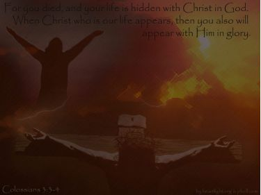PowerPoint Background: Colossians 3:1-4
