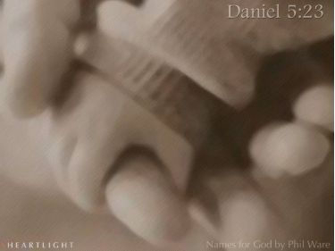 PowerPoint Background: Daniel 5:23 - Plain