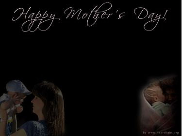 PowerPoint Background: Happy Mother's Day - 01