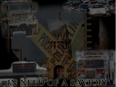 PowerPoint Background: In Need of a Savior