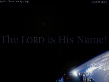 PowerPoint Background: Jeremiah 33:2-3 - Song Background