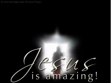 PowerPoint Background: Jesus is Amazing - Resurrection