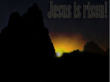 PowerPoint Background: Jesus is Risen