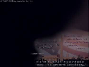 PowerPoint Background: Nehemiah 1:10