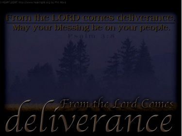 PowerPoint Background: Psalm 3:8 - Background