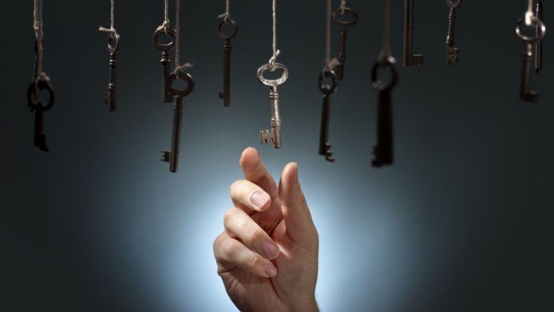 selecting key
