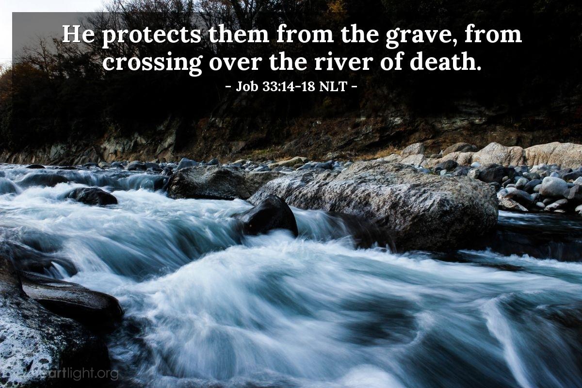 Visions & Whispers' — Job 33:14-18 NLT (Spiritual Warfare)