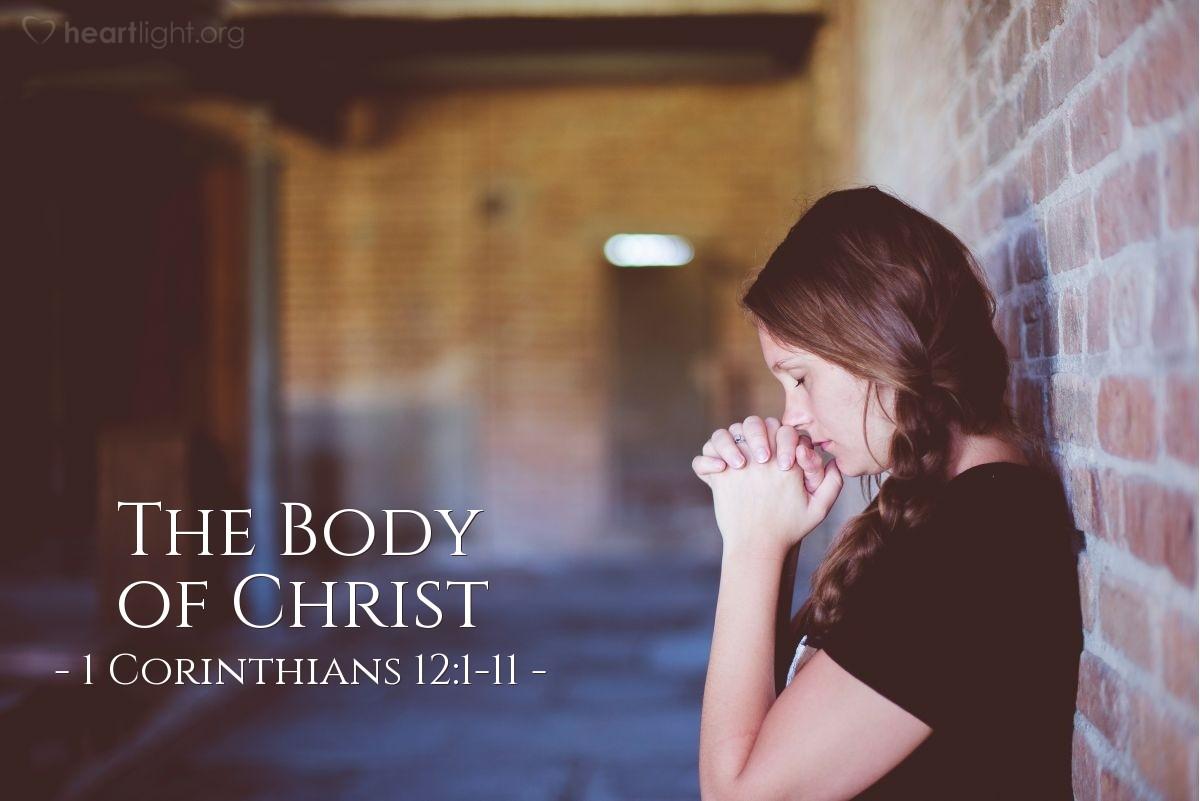 The Body of Christ — 1 Corinthians 12:1-11