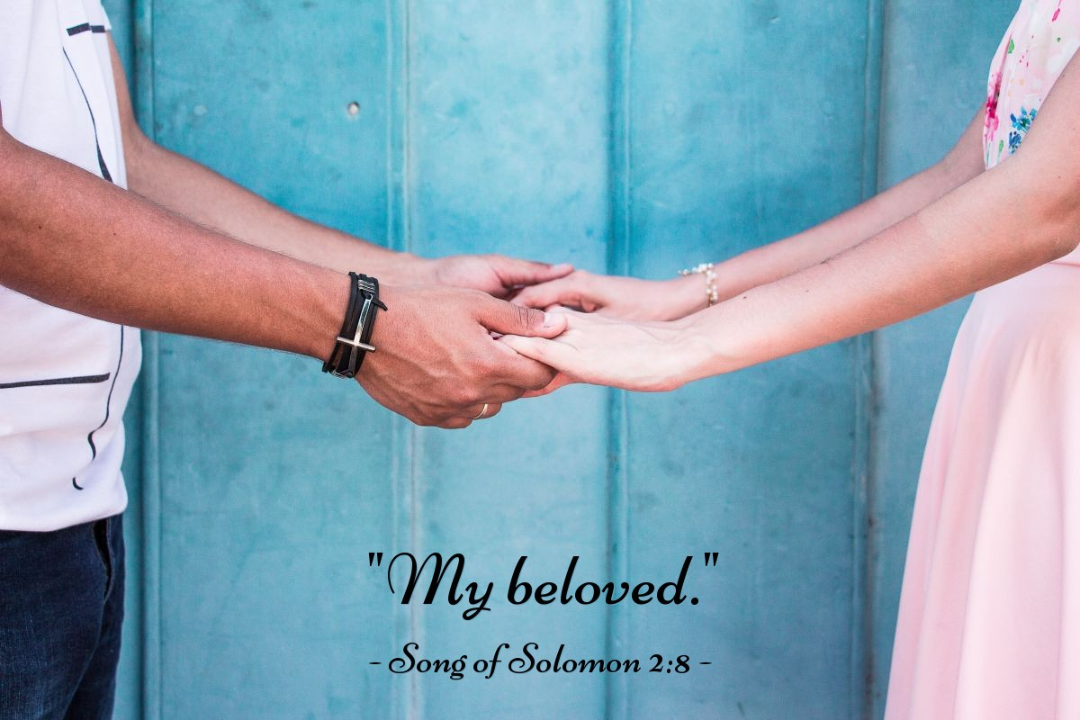 "Illustration of Song of Solomon 2:8 — ""My beloved."""