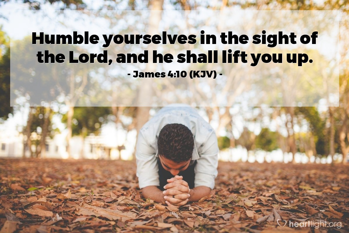 Image result for James 4:10 kjv