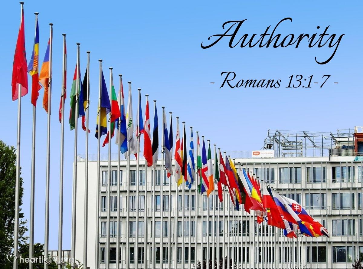 Authority — Romans 13:1-7