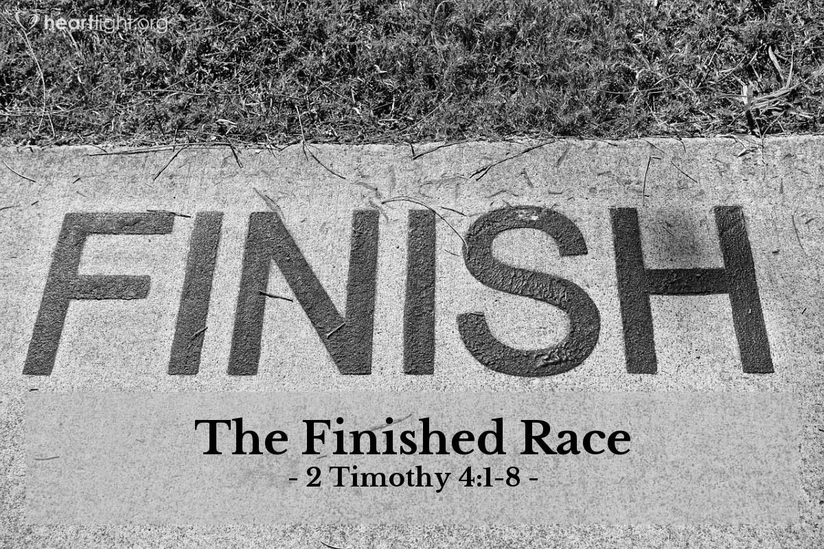 The Finished Race — 2 Timothy 4:1-8