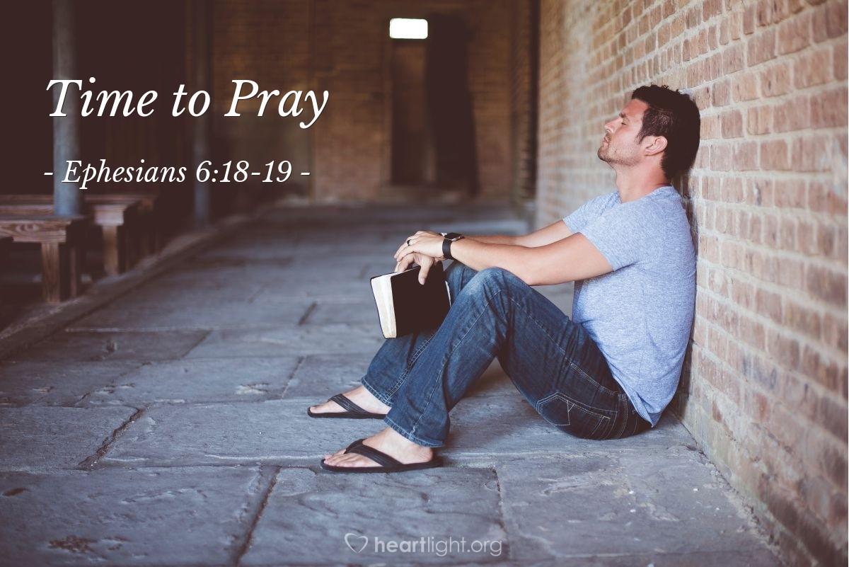 Illustration of Ephesians 6:23-24