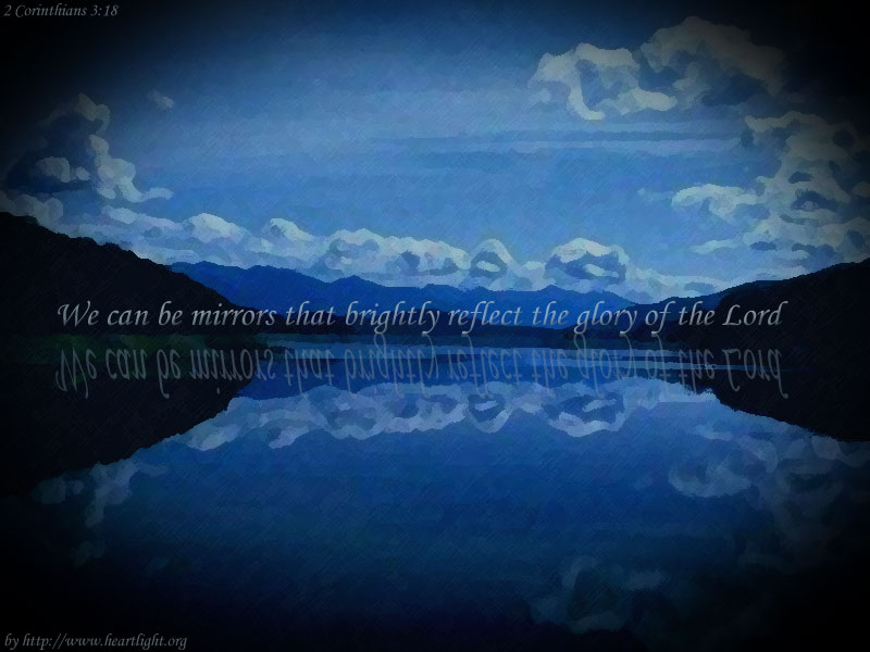 Quot Reflecting Jesus Glory Quot Powerpoint Background Of 2