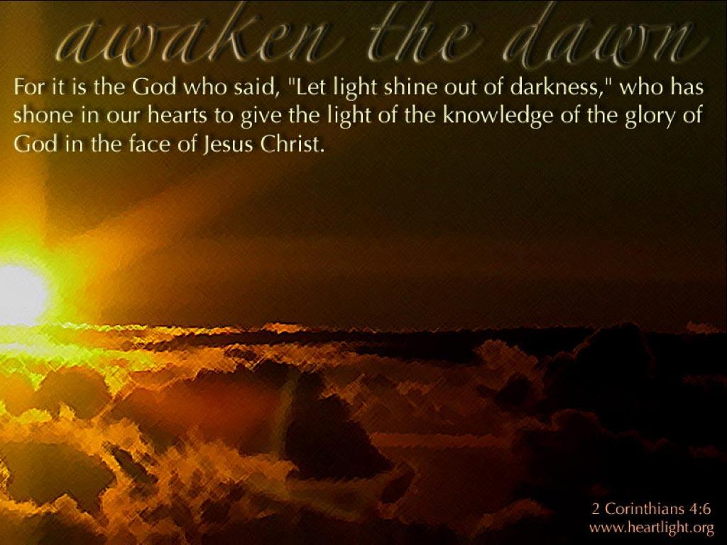 u0026quot awaken the dawn u0026quot   u2014 powerpoint background of 2 corinthians