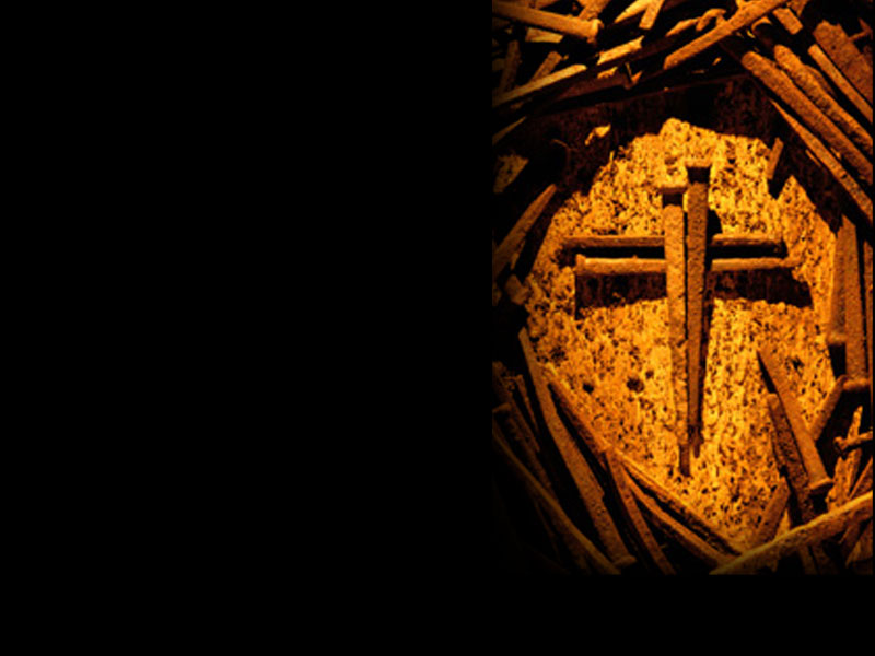 powerpoint background of cross of nails right heartlight powerpoint background of cross of nails