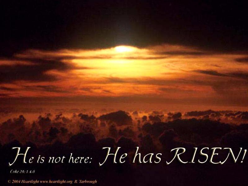 u0026quot he is risen  u0026quot   u2014 powerpoint background of luke 24 1
