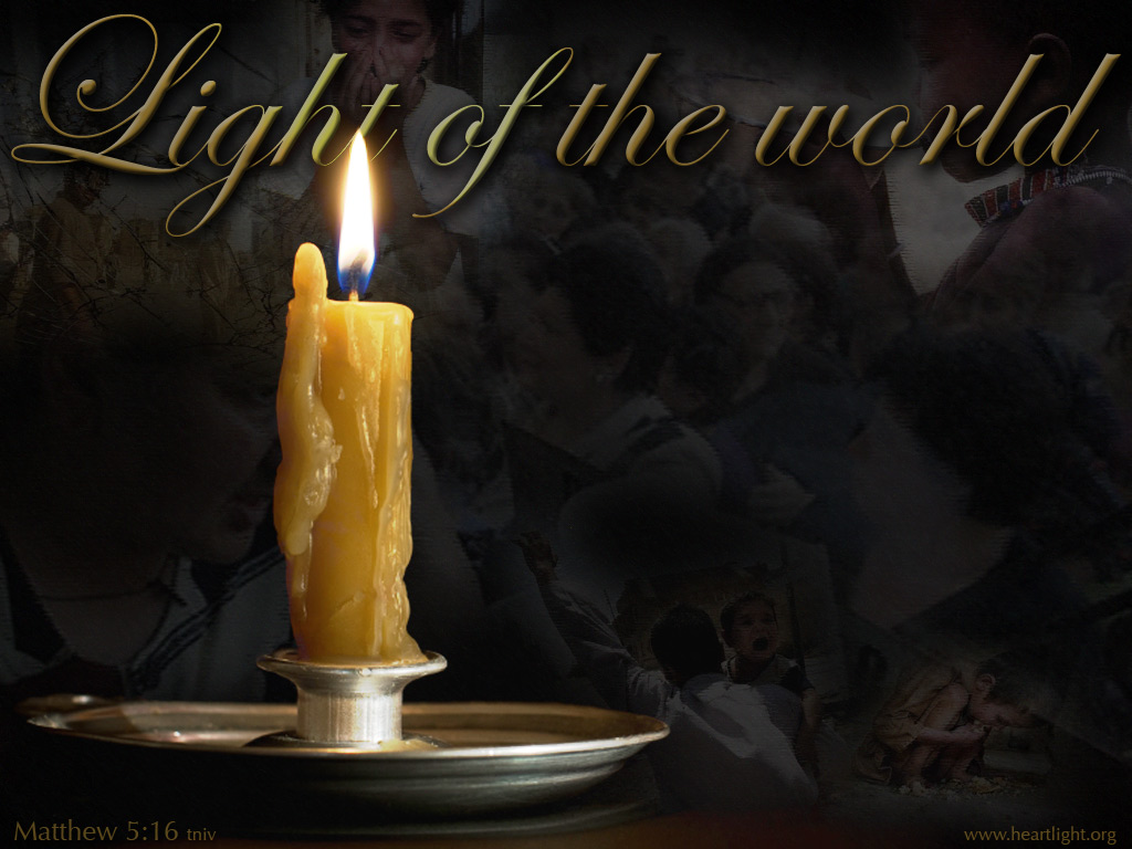Quot Light Of The World Quot Powerpoint Background Of Matthew 5