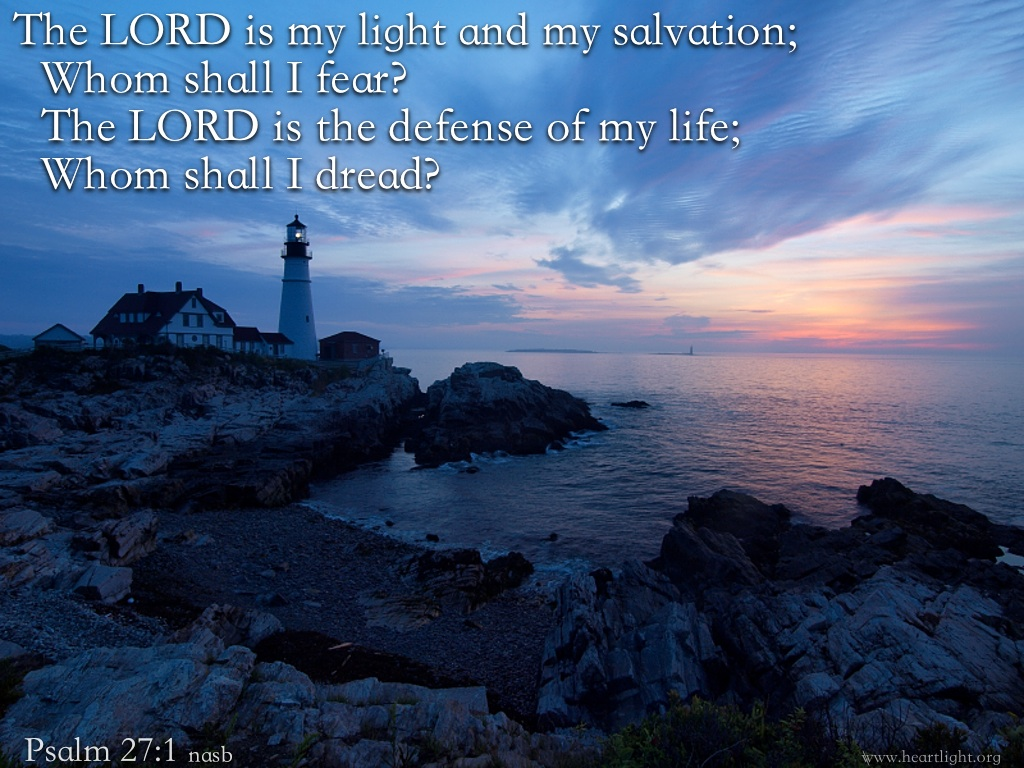 My Light And My Salvation Powerpoint Background Of Psalm 271