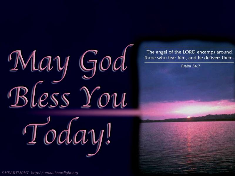 u0026quot may god bless you today u0026quot   u2014 powerpoint background of psalm