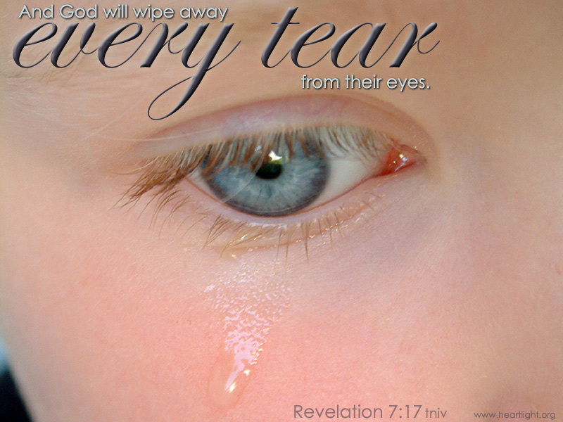 Revelation 7:17 / Every Tear!